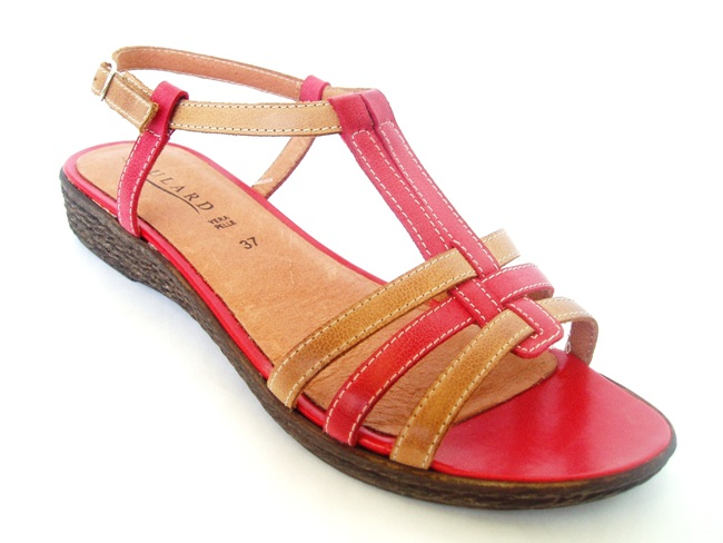 Sandale Casual Confort 801-19 tan.rosso