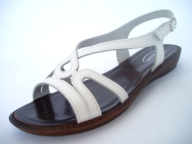 Sandale Casual Confort 73601 bianco