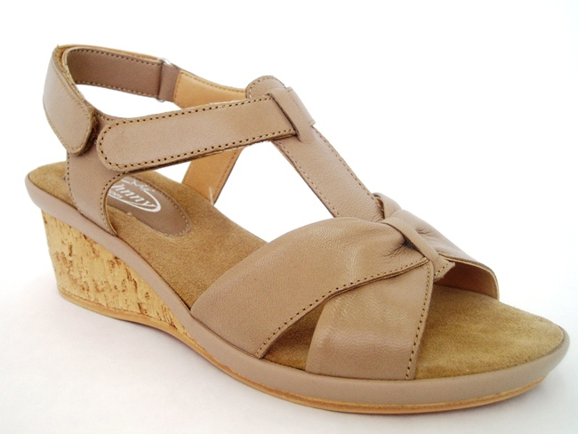 Sandale Casual Confort 744-16 delice taupe
