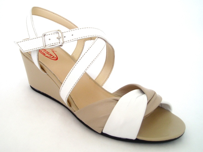Sandale Casual Confort 791-39 bianco.marmo
