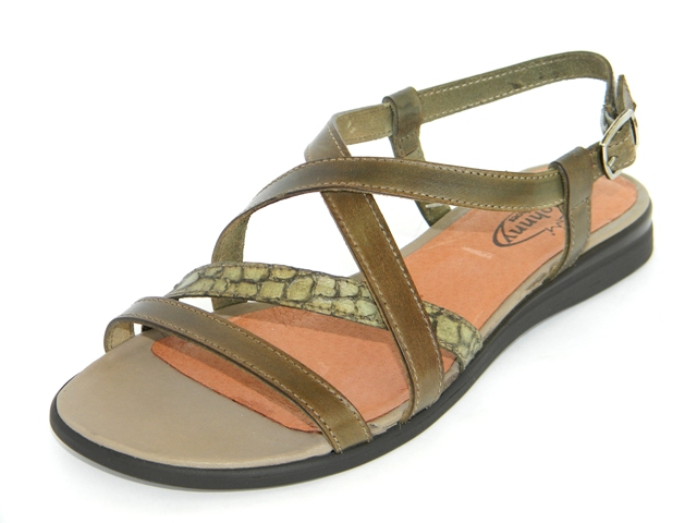 Sandale Femei Casual-Confort 952002 olivo