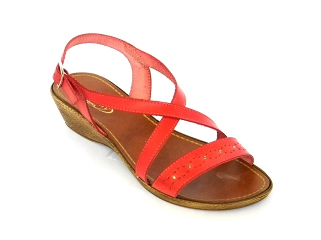 Sandale Femei Casual-Confort 781-033 rosso