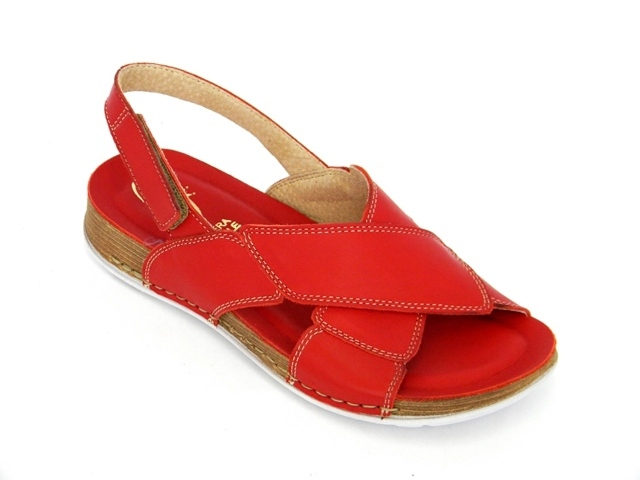 Sandale Femei Casual-Confort 149302 rosso