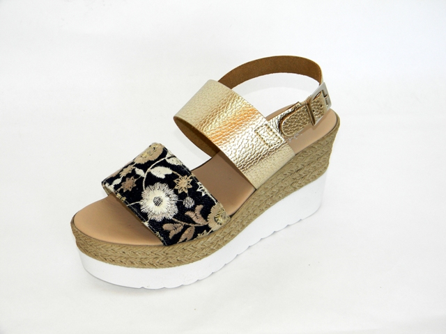 Sandale Femei Fashion Confort 4186 lame.platino