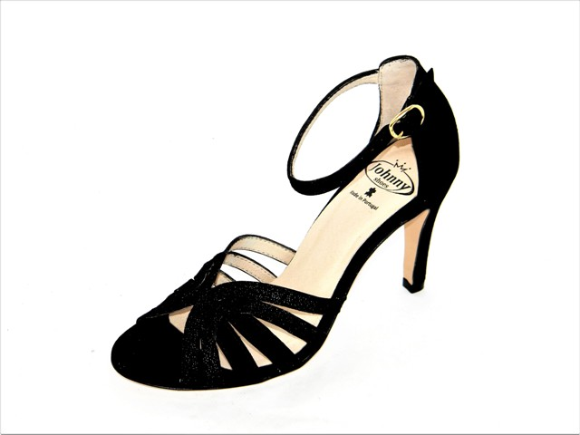 Sandale Femei Fashion Confort 8742 suede.lux black