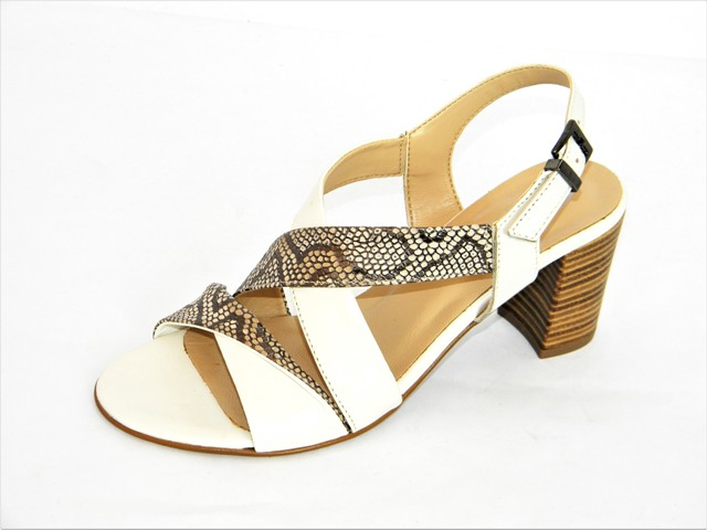 Sandale Femei Fashion Confort 36-6058 latte.taupe