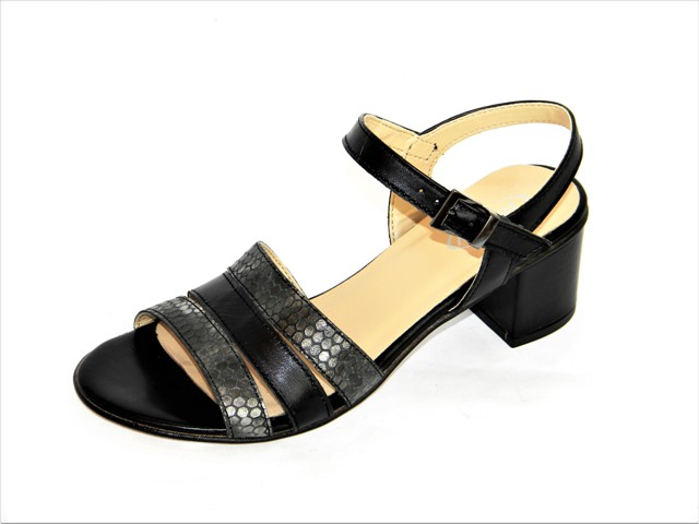 Sandale Femei Fashion Confort 31-122 nero
