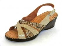 Sandale Femei Casual-Confort 5930 naplac.pitone beige