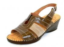 Sandale Femei Casual-Confort 6210 naplac.punto taupe